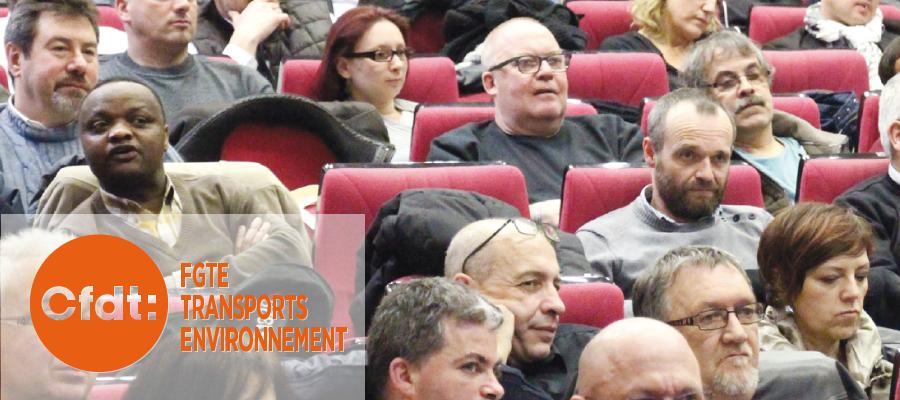 Colloque CFDT TRANSPORTS ENVIRONNEMENT