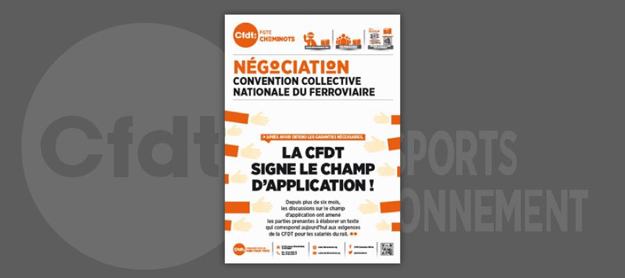 Convention Collective Nationale Ferroviaire : le communiqué de presse CGT !